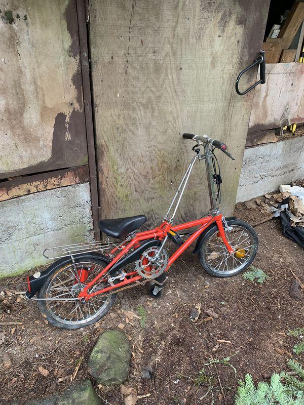 Dohon Fold up bike