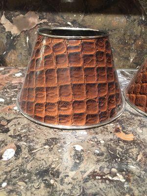 Crocodile print lamp shades for Sale in Atlanta, GA
