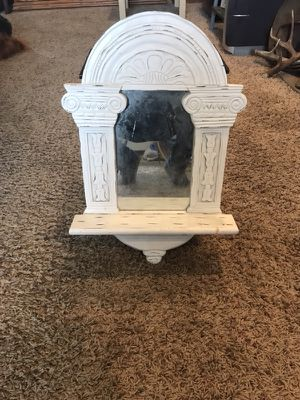 Hanging mirror with shelf for Sale in Coeur d'Alene, ID