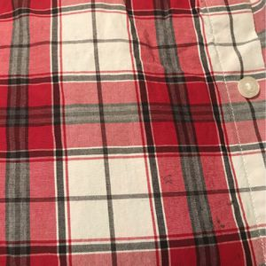 Janie and Jack Boys Red, Gray and White Plaid Shirt for Sale in Schaumburg, IL