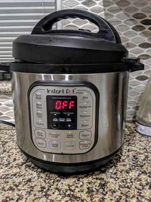 Instant pot duo 80 for Sale in Sunnyvale, CA