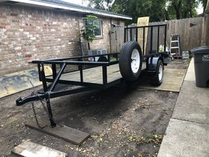 5x12 trailer with title for Sale in Houston, TX