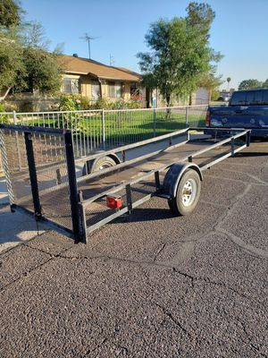 4ftx13ft utility trailer quad trailer landscaping for Sale in Phoenix, AZ