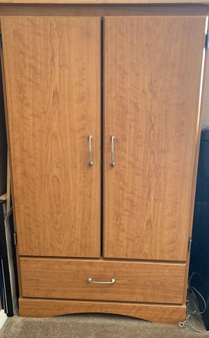 Wood Storage Cabinet / Hutch / Armoire for Sale in Rancho Cucamonga, CA