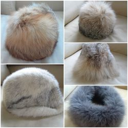 Real Lynx And Fox Fur Hats PRICED INDIVIDUALLY / NO OFFERS for Sale in Portland,  OR