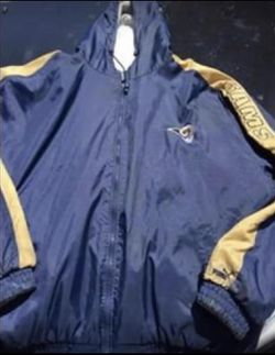 Just Reduced! Cooler temps now!! St Louis Rams/Puma reversible coat for Sale in Tullahoma,  TN