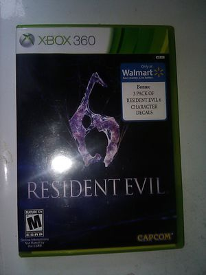 Resident Evil 6 (Xbox 360) for Sale in Raleigh, NC
