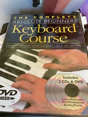 New guide dvd how to play the keyboard $5 for Sale in Fontana, CA