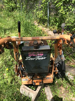 Scag 48 in walk behind mower complete for parts $500 for Sale in Annandale, VA