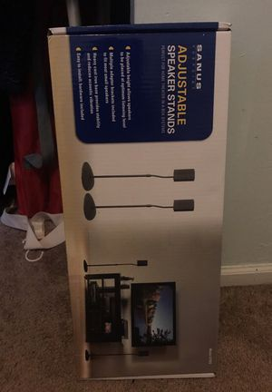 Brand new adjustable speaker stands for Sale in Chicago, IL
