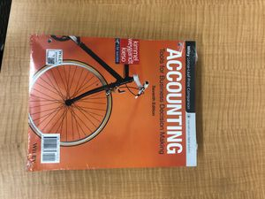Accounting 101 Wiley Plus. for Sale in Yorba Linda, CA