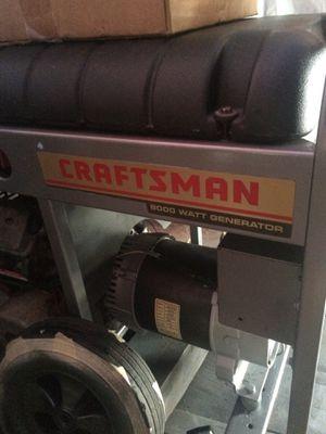 8000watt craftsman generator for Sale in Orlando, FL