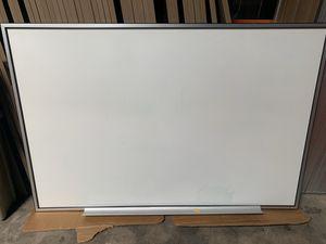 Pre-owned/Used Premium Marker Board w/ Silver and Black edge for Sale in Cerritos, CA