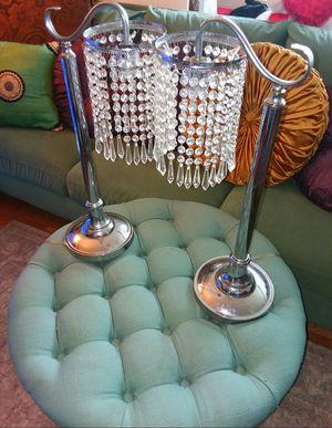 2 Christal Bead Lamps for Sale in Alexandria, VA
