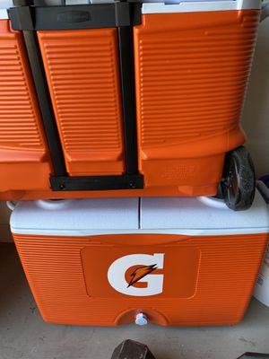 Gatorade wheeled coolers for Sale in Waddell, AZ
