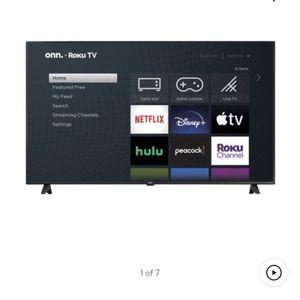 "Onn Tv 65"" Roku for Sale in Fresno, CA"