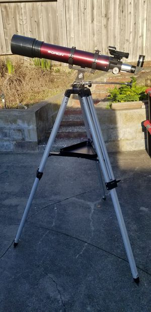 Orion telescope 90mm (660mm focal ). with study tripod for Sale in Pacifica, CA