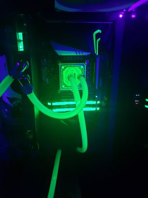 Custom Loop Gaming Computer and 2k 165hz Monitor - 9900KF / 1080 Ti for Sale in Orange Park, FL