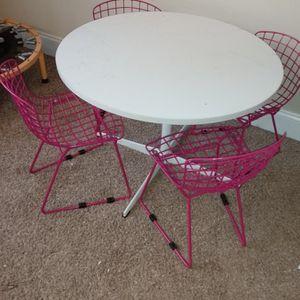 Kids Table 4 Chairs for Sale in Atlanta, GA