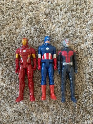 """12"""" Marvel characters for Sale in Santee, CA"""
