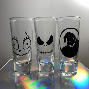 Nightmare Before Christmas Shot Glasses for Sale in Sacramento, CA