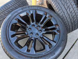 GMC Sierra 1500 Yukon Denali Wheels Tires P305 40R22 Rims 305 40 22 for Sale in Matthews, NC