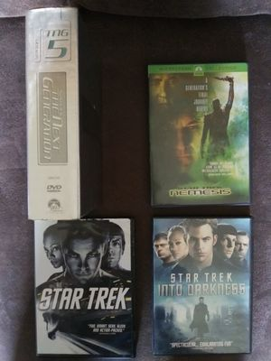 Star Trek DVD lot *includes 3 movies and 1 TV season* ($5 total for all) for Sale in BRECKNRDG HLS, MO