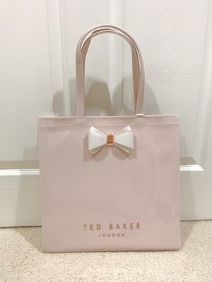 Brand new Ted Baker shopping bag tote in pink for Sale in Montebello, CA