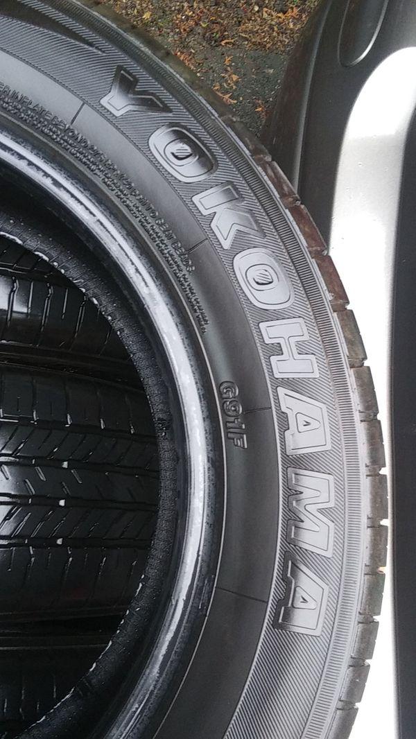 Tires YOKOHAMA. GEOLANDAR G 91. P225/60 R17 98H