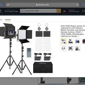 Photography Lighting For Studio for Sale in Smyrna, TN