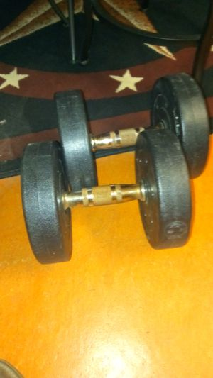 Set of weights 15 lbs each for Sale in Houston, TX