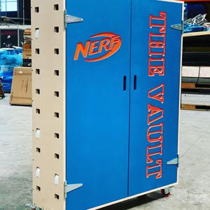 Custom built Nerf Cabinets for Sale in Brea, CA