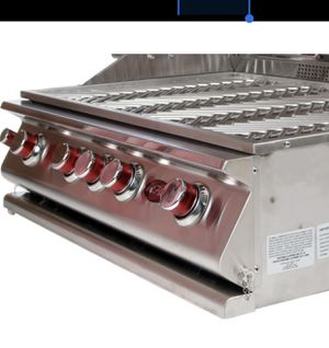 BBQ ISLAND 5 burners grill convention double side burner an double door for Sale in Lakewood, CA