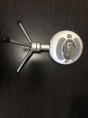 Blue Microphone Snowball Ice for Sale in Jacksonville, FL