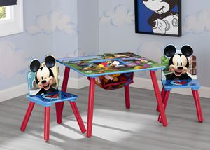 Title: Disney Mickey Mouse Kids Table and Chair Set with Storage by Delta Children for Sale in Houston, TX