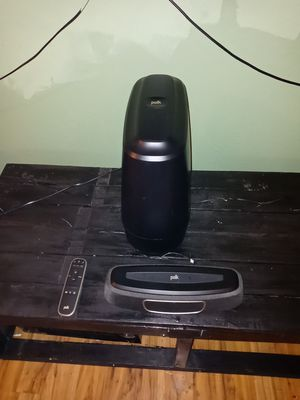 Polk Audio Magnifi mini Wireless Wifi Soundbar w/ wireless sub ( only sed 2 months) for Sale in Redlands, CA
