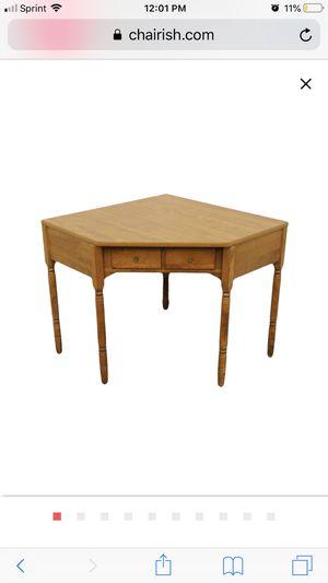 Ethan Allen corner desk for Sale in Vienna, VA
