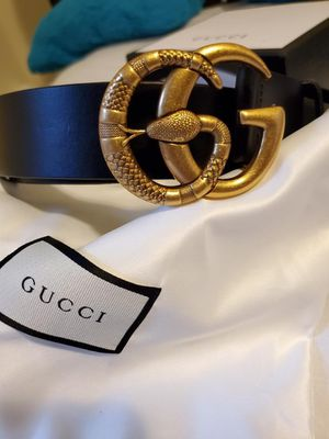 Gucci leather belt- size 30-34🔥🔥 for Sale in Greenwich, CT