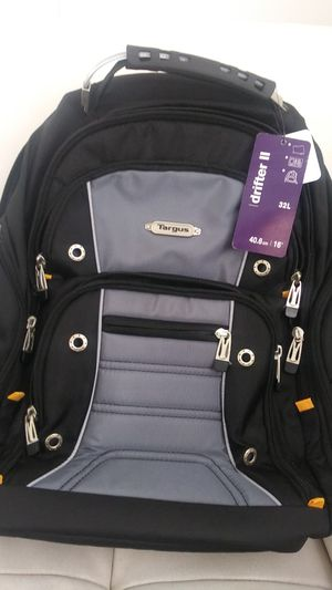 """Targus Drifter II Backpack for 16"""" Laptop Computer - Black for Sale in Miami, FL"""