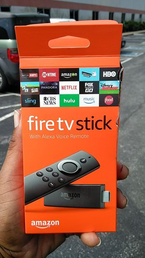 Fire Tv Stick w Alexia Remote for Sale in Nashville, TN