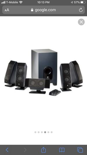 Logitech x 540 Speakers and subwoofer for Sale in Chicago, IL
