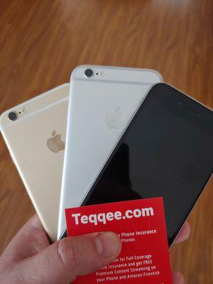 3 sim unlocked Apple iPhone 6 plus 64gb for Sale in Elk Grove, CA