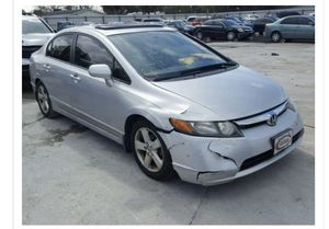 2007 Chevy Honda Civic, salvage title for Sale in Cape Coral, FL
