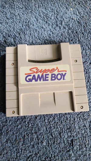 OEM Super Game Boy Super Nintendo cartridge for Sale in Rialto, CA