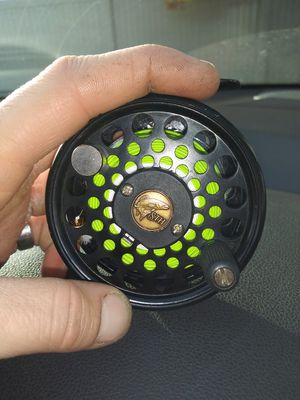 Sth Eliseos 8 fly fishing reel made in argentina for Sale in Spokane, WA