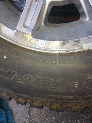 Wheel and tire h2 for Sale in Lakeland, FL