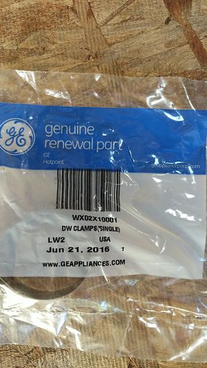 GE dishwasher hose clamp for Sale in Holladay, UT