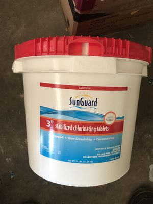 Chlorinated tablets for pool for Sale in Vienna, VA