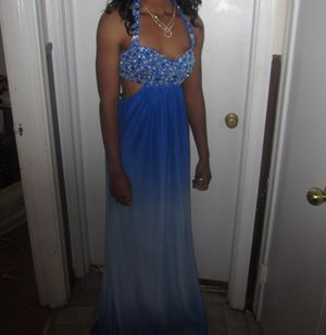 Blue Ombre Prom Dress for Sale in Edison, NJ