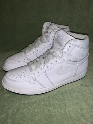 Air Jordan 1 White for Sale in Dublin, OH